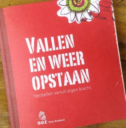Vallen en weer opstaan | Boekje GGZ Oost Brabant